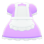 Maid Dress (Purple) NH Icon.png