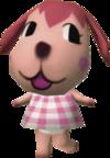 Megumi, an Animal Crossing villager.