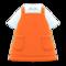 Apron (Orange) NH Icon.png