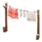 Clothesline (Red Plaid) NH Icon.png
