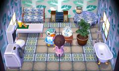 Sprinkle's house interior