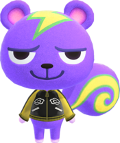 Static, an Animal Crossing villager.