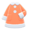 Terry-Cloth Nightgown (Orange) NH Icon.png