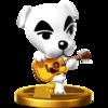 K.K. Slider SSB4 Trophy (Wii U).png