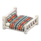 Log Bed (White Birch - Geometric Print) NH Icon.png