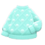 Pom-Pom Sweater (Blue) NH Icon.png