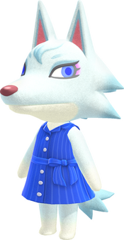 Whitney, an Animal Crossing villager.