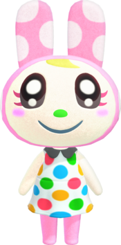Chrissy, an Animal Crossing villager.