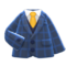 Tweed Jacket (Blue) NH Icon.png