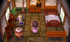 Deli's house interior