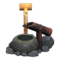 Deer Scare (Smoke-Cured Bamboo) NH Icon.png