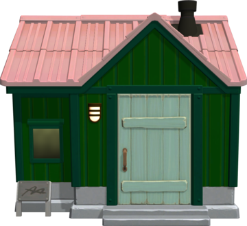 Exterior of Anicotti's house in Animal Crossing: New Horizons