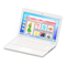 Laptop (White - Online Shopping) NH Icon.png