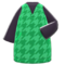 Plover Dress (Green) NH Icon.png