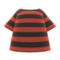 Striped Tee (Red) NH Icon.png