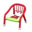Baby Chair (Red - Train)