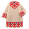 Bohemian Tunic Dress (Red) NH Icon.png
