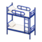 Bunk Bed (Blue - White) NH Icon.png