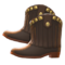 Cowboy Boots (Black) NH Icon.png