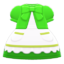 Fairy-Tale Dress (Light Green) NH Icon.png