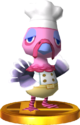 Franklin SSB4 Trophy (3DS).png