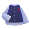Fuzzy Vest (Navy Blue) NH Icon.png
