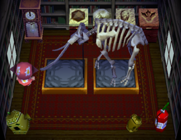 Interior of Daisy's house in Animal Crossing