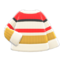 Colorful Striped Sweater (White, Yellow & Red) NH Icon.png