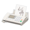 Fax Machine (White - Written Note) NH Icon.png