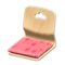 Floor Seat (Light Wood - Peach) NH Icon.png