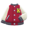 Letter Jacket (Red) NH Icon.png
