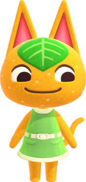 Tangy, an Animal Crossing villager.