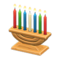 Celebratory Candles (Light Brown) NH Icon.png