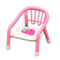 Baby Chair (Pink - Strawberry) NH Icon.png