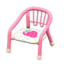 Baby Chair (Pink - Strawberry)