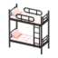 Bunk Bed (Black - Checkered)