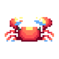 Crab DnMe+ Sprite Upscaled.png