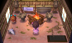 Clay's house interior