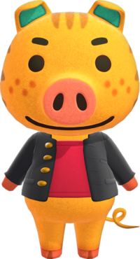 Kevin, an Animal Crossing villager.
