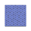 Blue Honeycomb Tile