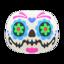 Candy-Skull Mask