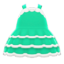 Dollhouse Dress (Green) NH Icon.png