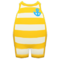 Horizontal-Striped Wet Suit (Yellow) NH Icon.png
