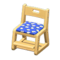 Study Chair (Natural - Blue) NH Icon.png
