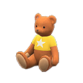 Baby Bear (Caramel Mocha - Star) NH Icon.png