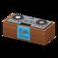 DJ's Turntable (Brown - Handwritten Logo)