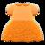 Floral Lace Dress (Orange) NH Icon.png