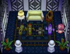 Cesar's house interior