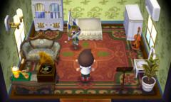 Kitty's house interior