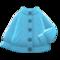 Aran-Knit Cardigan (Light Blue) NH Icon.png
